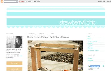 http://strawberry-chic.blogspot.com/2011/03/home-decor-vintage-desktable-how-to.html