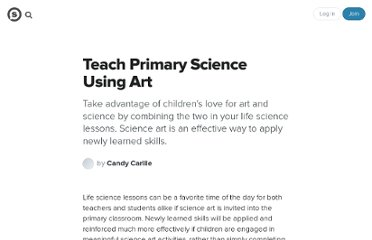 http://suite101.com/article/teach-life-science-using-art-a31264