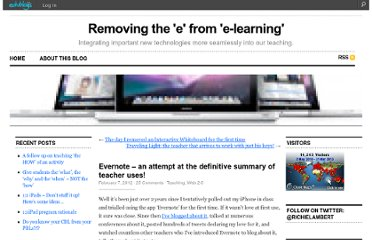 http://richlambert.edublogs.org/2012/02/07/evernote-the-definitive-post/