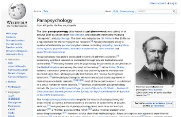 http://en.wikipedia.org/wiki/Parapsychology#Near_death_experiences