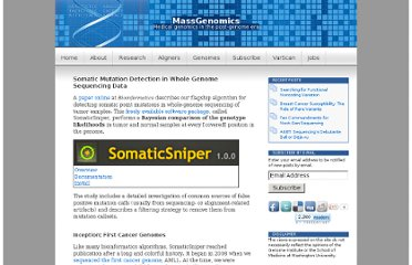 http://massgenomics.org/2011/12/somatic-mutation-detection-in-whole-genome-sequencing-data.html