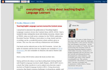 http://everythingesl-everythingesl.blogspot.com/2010/02/teaching-english-language-learners.html
