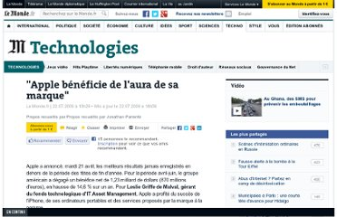 http://www.lemonde.fr/technologies/article/2009/07/22/apple-beneficie-de-l-aura-de-sa-marque_1221794_651865.html#xtor=RSS-3208
