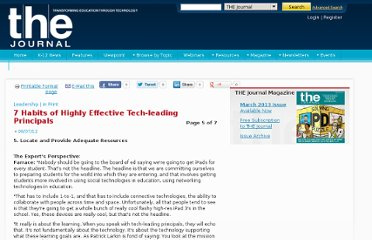 http://thejournal.com/Articles/2012/06/07/7-habits-of-highly-effective-tech-leading-principals.aspx?Page=5