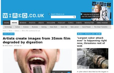 http://www.wired.co.uk/news/archive/2012-06/07/35mm-film-swallowed-for-art
