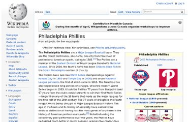 http://en.wikipedia.org/wiki/Philadelphia_Phillies