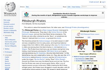 http://en.wikipedia.org/wiki/Pittsburgh_Pirates