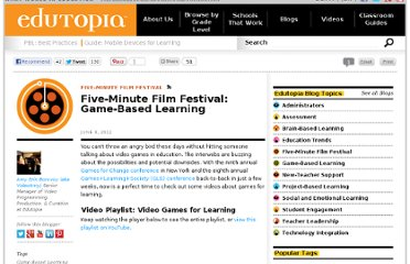 http://www.edutopia.org/blog/film-festival-video-game-based-learning