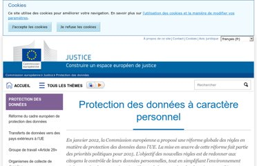 http://ec.europa.eu/justice/data-protection/index_fr.htm
