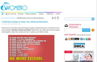 http://www.womenio.com/527/10-brilliant-quotes-to-keep-your-workout-motivation