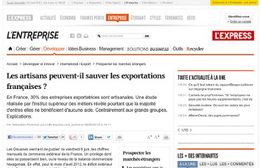 http://lentreprise.lexpress.fr/prospection-internationale/les-artisans-peuvent-il-sauver-les-exportations-francaises_33254.html#xtor=RSS-146