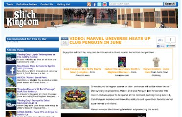 http://www.stitchkingdom.com/disney-video-marvel-universe-heats-club-penguin-june-21076/