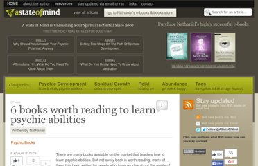 http://astateofmind.eu/2010/04/26/6-books-worth-reading-to-learn-psychic-abilities/