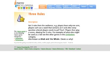 http://improvencyclopedia.org/games//Three_Rules.html