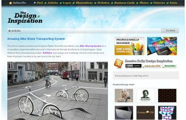 http://thedesigninspiration.com/articles/amazing-bike-share-transporting-system/