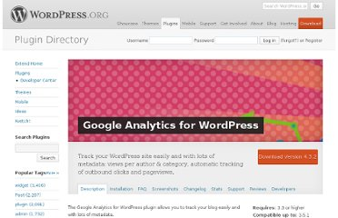 http://wordpress.org/extend/plugins/google-analytics-for-wordpress/