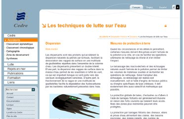 http://www.cedre.fr/fr/accident/deepwater_horizon/technique-lutte.php