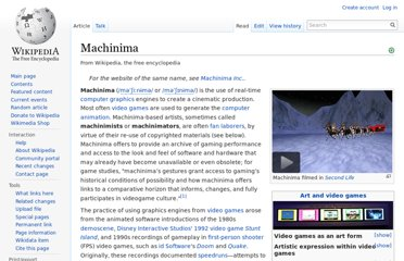 http://en.wikipedia.org/wiki/Machinima