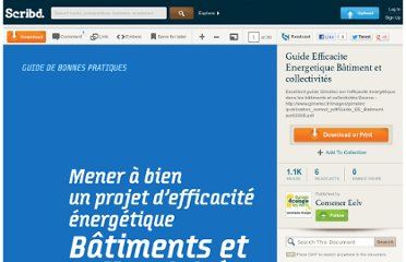 http://fr.scribd.com/doc/58297217/Guide-Efficacite-Energetique-Batiment-et-collectivites