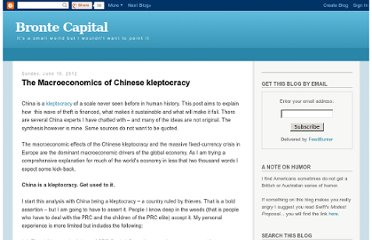 http://brontecapital.blogspot.com/2012/06/macroeconomics-of-chinese-kleptocracy.html