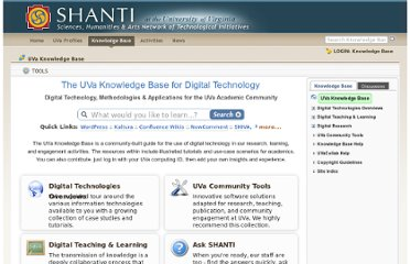 https://wiki.shanti.virginia.edu/display/KB/UVa+Knowledge+Base