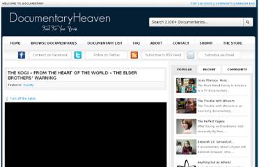 http://documentaryheaven.com/the-kogi-from-the-heart-of-the-world-the-elder-brothers-warning/