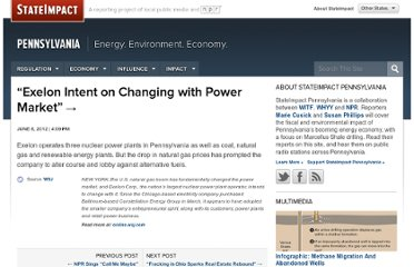 http://stateimpact.npr.org/pennsylvania/jp/exelon-intent-on-changing-with-power-market/