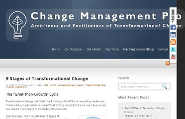http://www.changemanagementpro.com/9-stages-of-transformational-change/