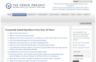 http://thevenusproject.com/en/the-venus-project/faq