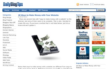 http://www.dailyblogtips.com/ways-to-make-money-online-with-website/