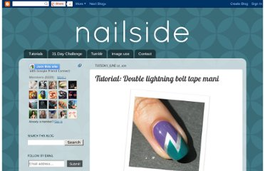 http://nailside.blogspot.com/2011/06/tutorial-double-lightning-bolt.html