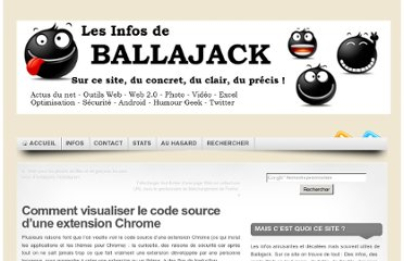 http://www.ballajack.com/visualiser-code-source-extension-chrome