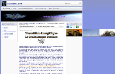 http://transitio.net/index.php?option=com_content&view=article&id=50:transition-energetique-le-double-langage-des-elites&catid=39:energies-fossiles&Itemid=60