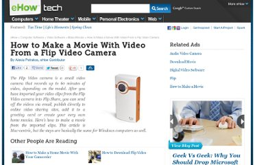http://www.ehow.com/how_4699566_movie-video-flip-video-camera.html