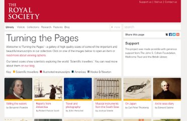 http://royalsociety.org/library/turning-the-pages/