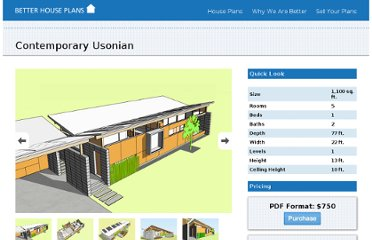 http://www.better-houseplans.com/House-Plan-OverView/89/Contemporary-Usonian.aspx