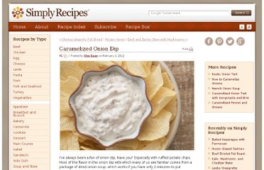 http://www.simplyrecipes.com/recipes/caramelized_onion_dip/