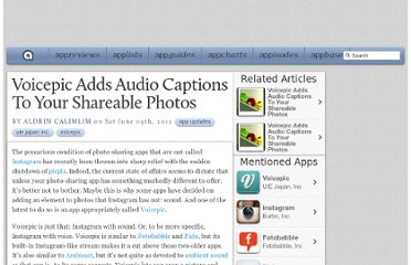 http://appadvice.com/appnn/2012/06/voicepic-adds-audio-captions-to-your-shareable-photos