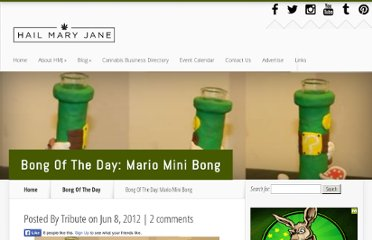 http://www.hailmaryjane.com/bong-of-the-day-mario-mini-bong/