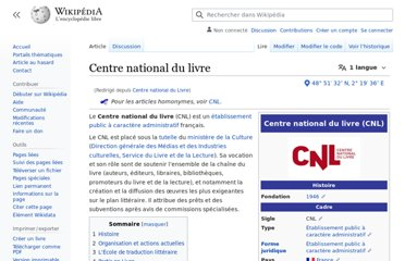 http://fr.wikipedia.org/wiki/Centre_national_du_Livre