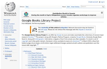 http://en.wikipedia.org/wiki/Google_Books_Library_Project