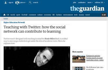 http://www.guardian.co.uk/higher-education-network/blog/2012/jun/11/teaching-with-twitter