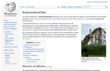 http://fr.wikipedia.org/wiki/Autoconstruction