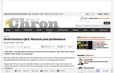 http://www.chron.com/business/article/Small-business-Q-amp-A-Measure-your-performance-3621233.php