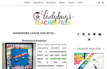http://www.ladybugsteacherfiles.com/2010/12/homework-can-be-fun-with.html