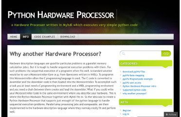 http://pycpu.wordpress.com/info/why-another-hardware-processor/
