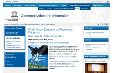 http://www.unesco.org/new/en/communication-and-information/events/calendar-of-events/events-websites/world-open-educational-resources-congress/