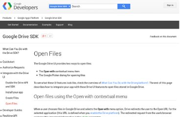 https://developers.google.com/drive/integrate-open#open_files_using_the_google_picker
