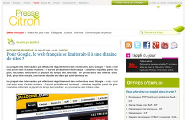 http://www.presse-citron.net/seo-les-sites-francais-les-mieux-references