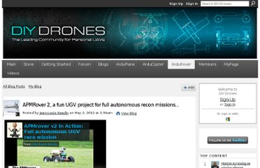 http://diydrones.com/profiles/blogs/apmrover-1280-a-fun-ugv-project-for-in-full-autonomous-reco